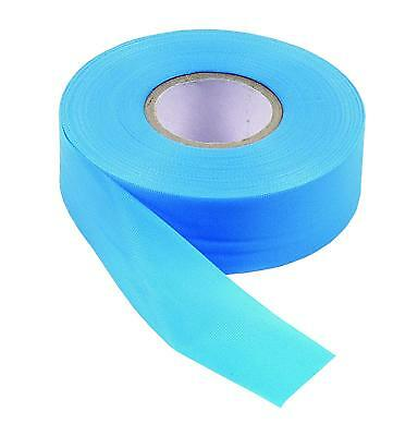 Task Tools T59206 1-Inch Blue PVC Flagging Tape