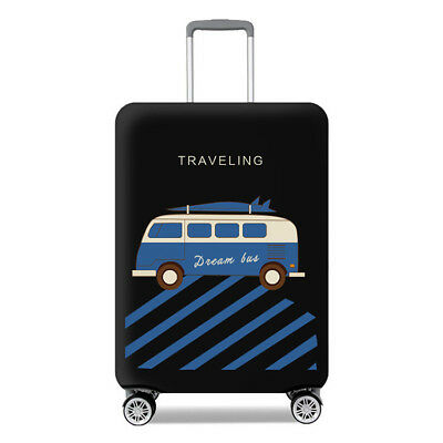 """Travel Luggage Cover Protector Suitcase Dust Proof Bag Anti Scratch Fit 26""""-28"""""""