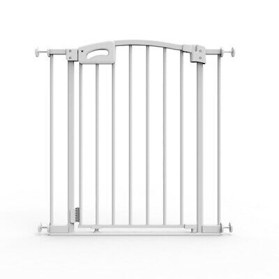 Child Safety Ultimate Safety Gate, White, Pressure Mounted (suits 73-82cm)