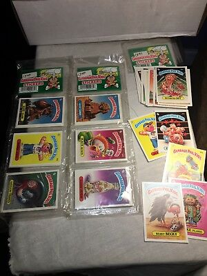 3 Garbage Pail Stickers Rack Packs. 2 Unopened. 24 Cards Each. 1986 Topps
