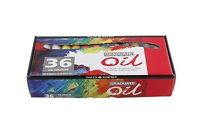 Daler Rowney Graduate Oil **NEW** Set - 36 x 22ml Tubes