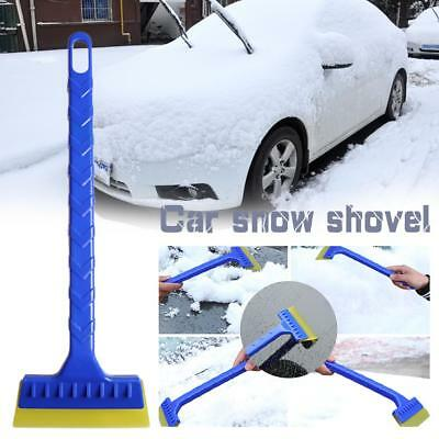 Car Snow Scraper ABS Snow Remover Windshield Ice Long Handle Snow Wiper Shovel