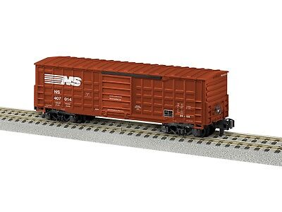 Lionel 44080 American Flyer Waffle Side Boxcars Norfolk Southern One Pair New