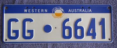 Gin Gin Shire License/number Plate #  Gg.6641