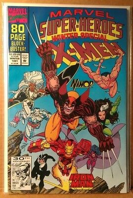 Marvel - Super-Heroes Winter Special w/ X-MEN 1991 First App Squirrel Girl - NM+