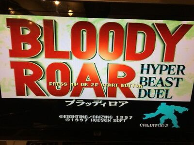 BLOODY ROAR Authentic - JAMMA PCB - WORKING Rare US Seller