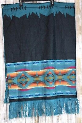 Mexican Blanket Wall Hanging Décor Tug Multi Color