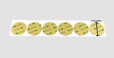 "3M 9495le Double Sided VHB Tape, 300 LSE Adhesive - 1.75"" Circles, Transfer Tape"