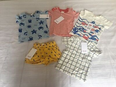 Seed Heritage Baby 000 0-3 Months X 5