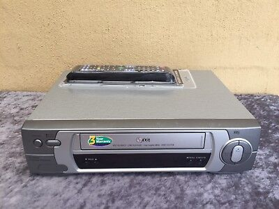 Serviced LG BC-280 Video Recorder Player + REMOTE Player VCR I Post