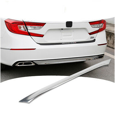 ABS Chrome Lower Rear Bumper Moulding Cover Trim For Honda Accord 10th 2018