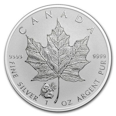 2016 Maple Leaf with Panda Privy 1oz .9999 Silver Coin - Reverse Proof - RCM