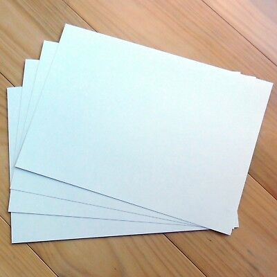 """""""COOL WHITE"""" A4 METALLIC SHIMMER PEARLESCENT PREMIUM CARD x 10 SHEETS 250 GSM"""