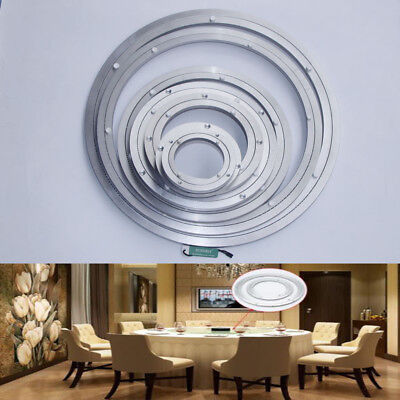 Aluminium Lazy Susan Swivel Bearing Turntable Table Round Plate 4 8 10 12 18 ''