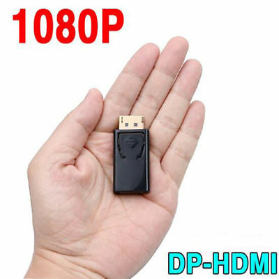 Display Port DP Male to HDMI Female Converter Cable Adapter Video Connector