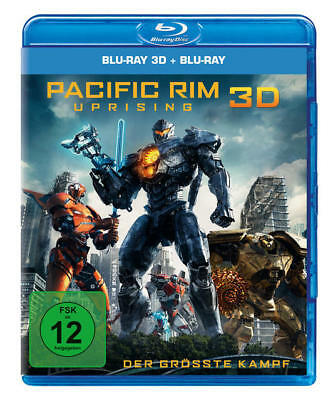 Universal Pictures Pacific Rim: Uprising - 2 Disc Bluray (BLU-RAY 3D/2D)