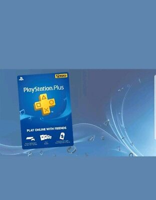 "Sony PlayStation Plus -12 Month ""No Code"" Read Discription ""Sameday delivery"""