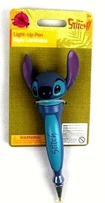 Disney Character Writing Pens Stitch His Head  Lights Up