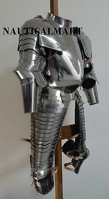 Suit Of Armor Breastplate Medieval Halloween Costume Adult Costume Replica Item
