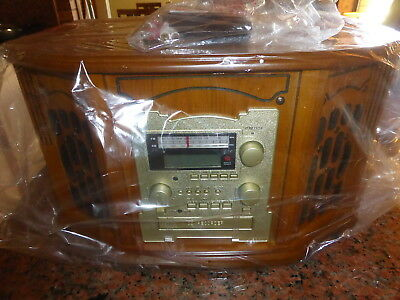ANTIQUE HI-FI 8 In 1 WITH CD RECORDER