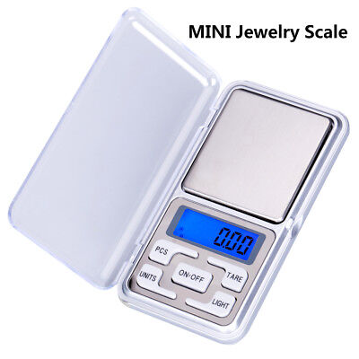 MINI Digital Jewelry Scale 200g*0.01g 500g*0.1g Pocket Balance Electronic Scale