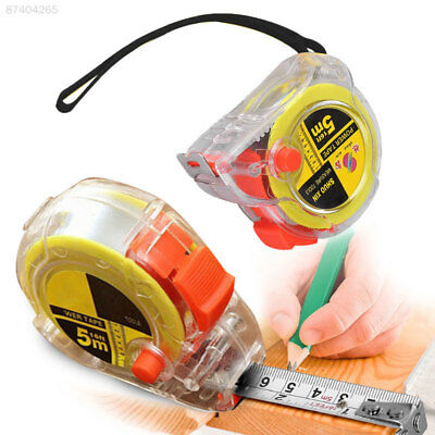 F64B 5m Steel Measure Tape Retractable Rule Industrial For Working Home