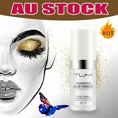 Magic Flawless Color Changing Foundation TLM Makeup Change To Your Skin Tone BK