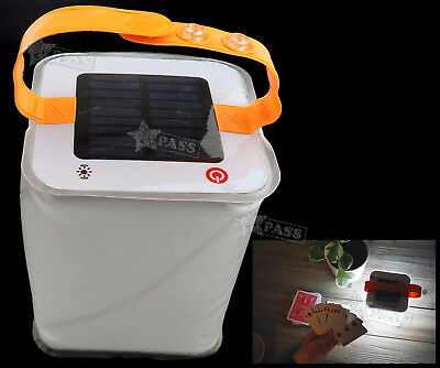 Inflatable Solar Power LED Lantern Outdoor Party Camping Garden Tent Lighting