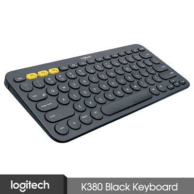 Logitech K380 Multi-Devices Bluetooth Keyboard Black For iOS Android Laptop