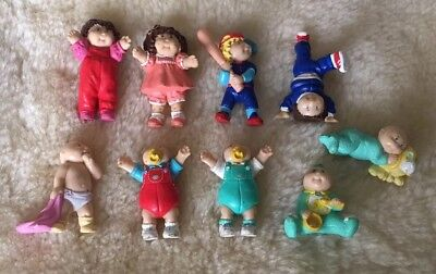 9 Cabbage Patch Kids Figurines Figures