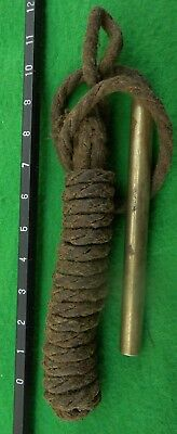 WW1, WW2 & later .303 barrel cleaning pull-through.