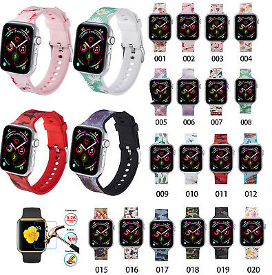 38/42mm Silicone Bracelet Band Strap For Apple Watch iWatch Sports Series 1/2/34