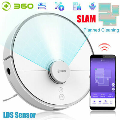 ILIFE V5S Pro Smart Robotic Vacuum Cleaner Dry Wet Sweeping Cleaning Machine IR