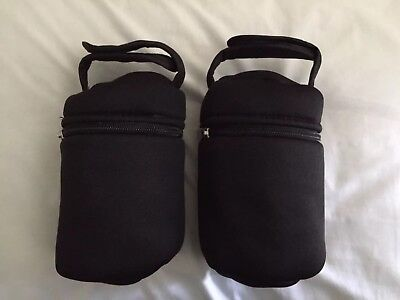 Tommee Tippee Closer to Nature Insulated Bottle Bag Carriers x2