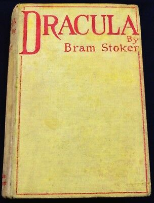 Bram Stoker Dracula First Edition second issue Constable1897 VG orig cloth