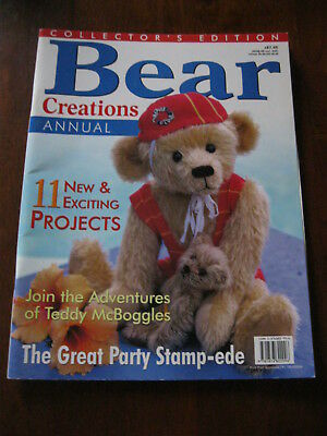 Bear Creations: Annual: 11 Exciting Projects: Pattern sheet attached :Preloved