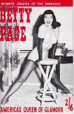 """MEN'S MAGAZINES - """"Intimate studies of the fabulous BETTY PAGE"""".."""