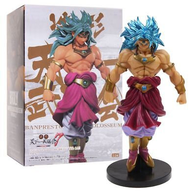 Dragon Ball DragonballZ Blue Super Saiyan Broly Broli PVC Figurine Jouet nouveau