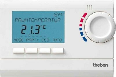 Theben Uhrenthermostat RAM 832 top2 IP20 cremeweiß Uhrenthermostate 8320132