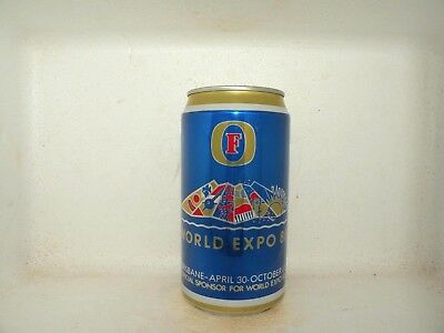 Fosters Expo 88 Brisbane Empty Beer Can