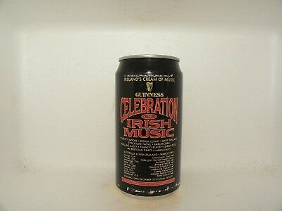 Guinness Celebration Of Irsih Music Aus Nz 1993 Empty Beer Can