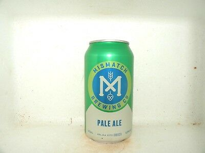 MISMATCH PALE ALE 375ml PAINTED EMPTY BEER CAN