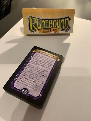 RUNEBOUND SECOND EDITION - Challenge Card Expansions - The Terrors of the Tomb
