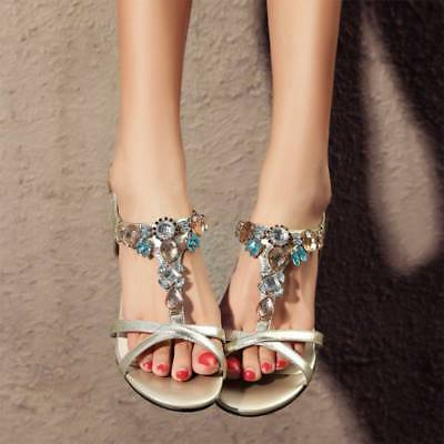 2 pcs Sandals Flip Flops Slippers Crystal Shoes Charms Decorative Accessories