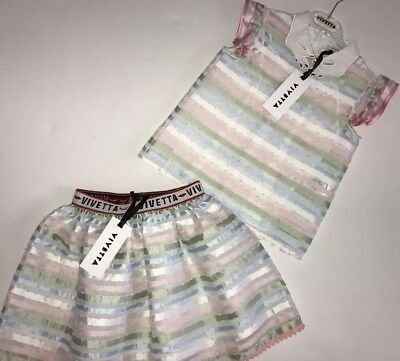 Vivetta girls outfit skirt and top BNWT RRP £274 NOW £120 ‼️‼️‼️