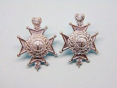 THE ROYAL SUSSEX REGIMENT O/R s ANODISED COLLAR BADGES.