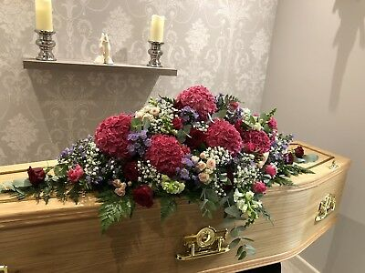 Fresh Flower Coffin Spray 5Ft (can Do Smaller Or Larger) Midland Based