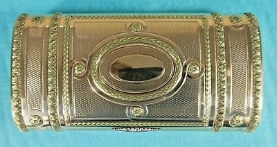 Exceptional Russian 2 Colour Gold Box / Cigar Case Faberge Henry Wigstrom C1905