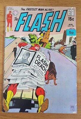 "Flash #199 (1970) "" Flash is Dead "" Bronze Age Issue"