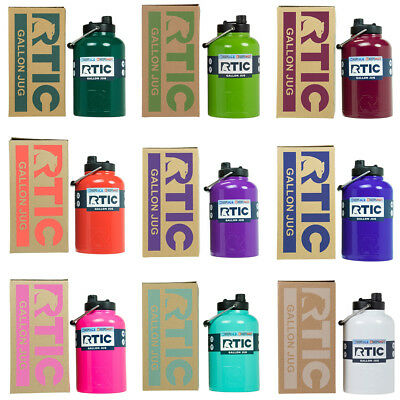 NEW RTIC Hot Cold Double Wall Vacuum Insulated One Gallon Jug Many Colors